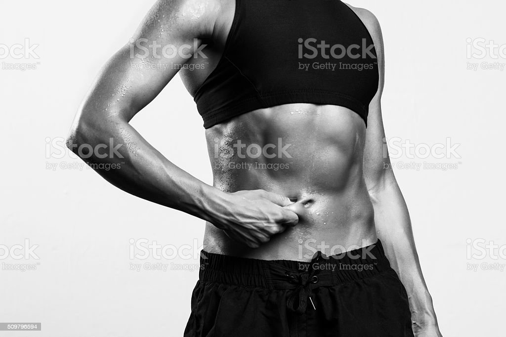 Loosing weight stock photo