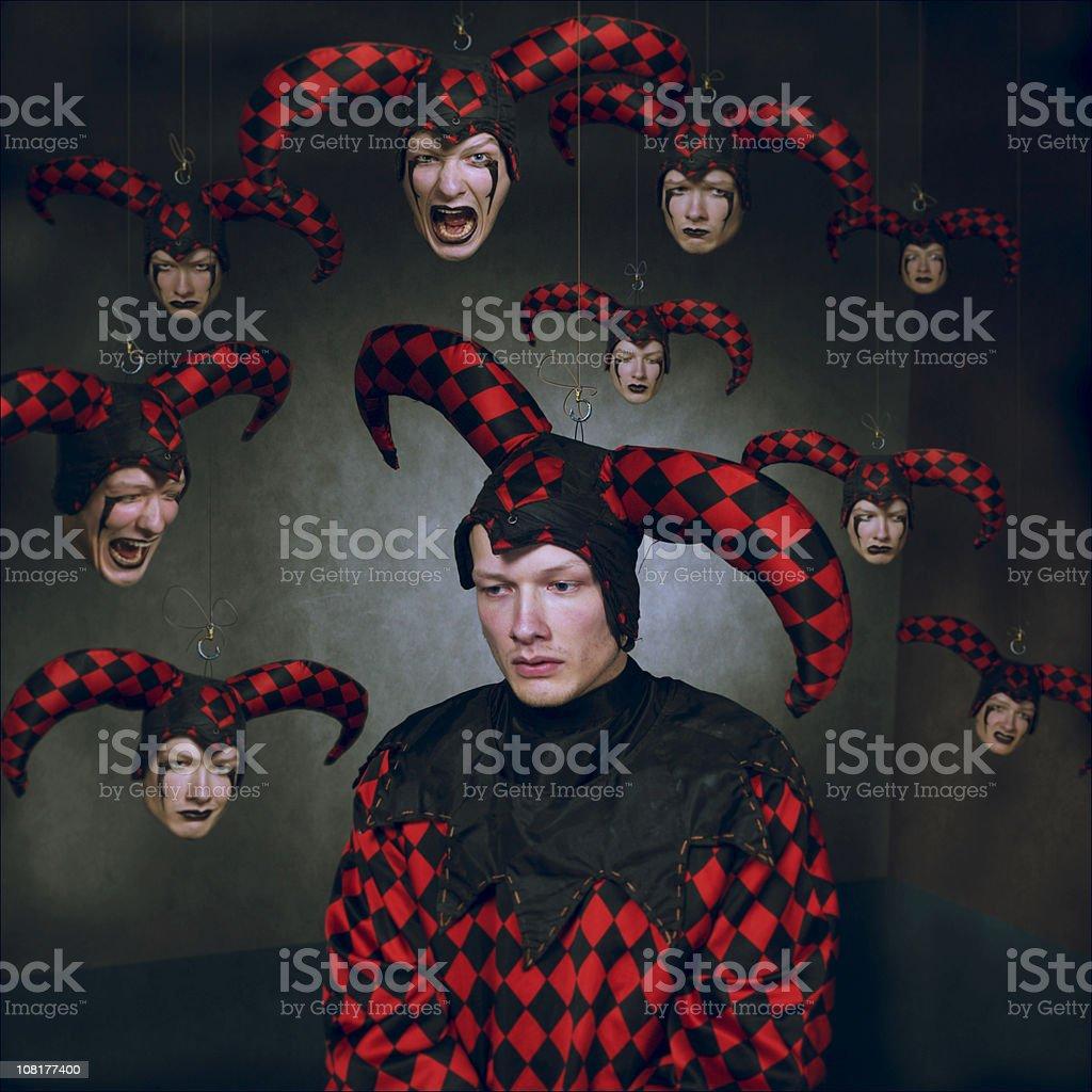 lord clow: last work stock photo