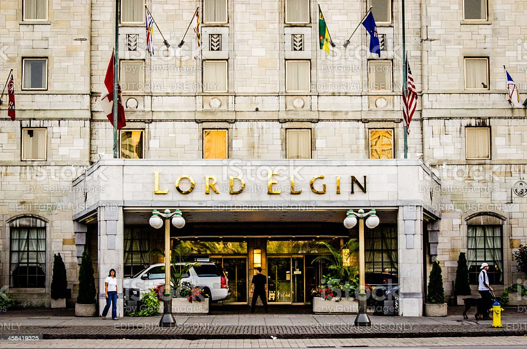 Lord Elgin Hotel stock photo