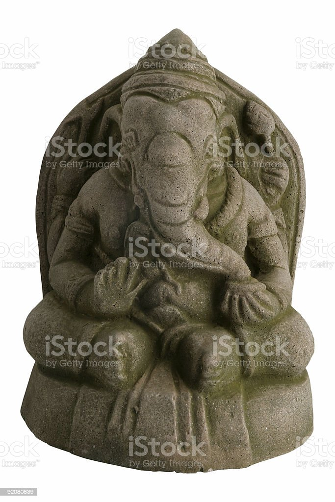 Lord Ganesh royalty-free stock photo