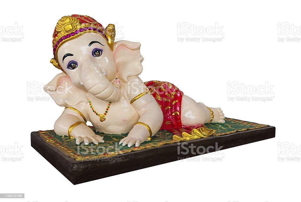 Lord Ganesha Figure royalty-free stock photo