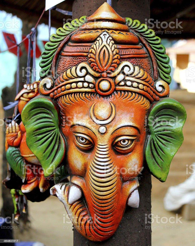 lord ganesha hanging royalty-free stock photo