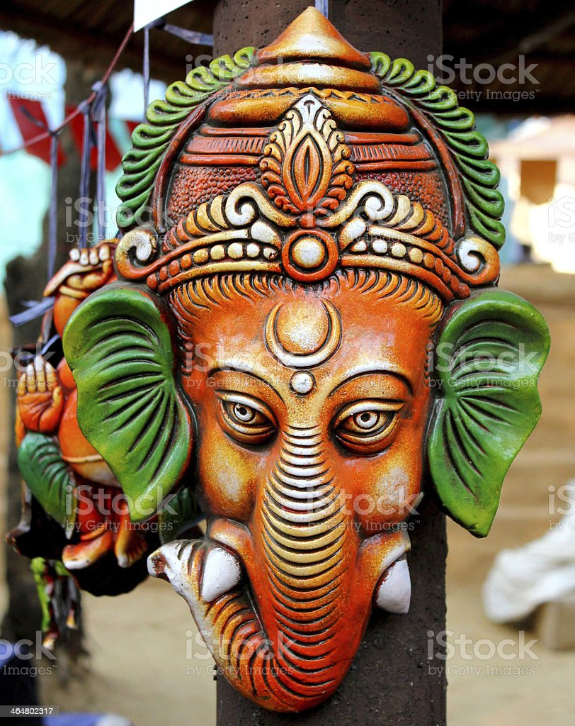lord ganesha hanging stock photo