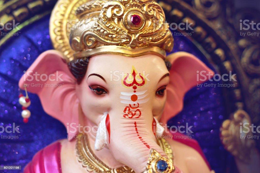 Lord Ganesha stock photo