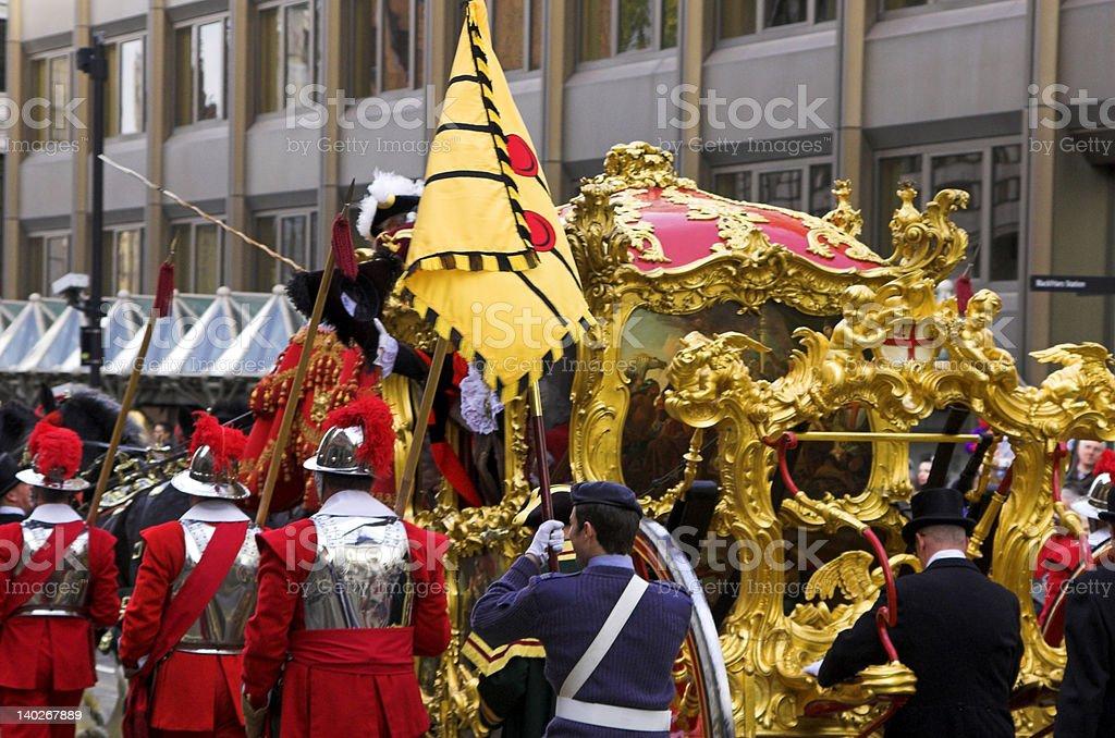 Lord Mayor's Show royalty-free stock photo