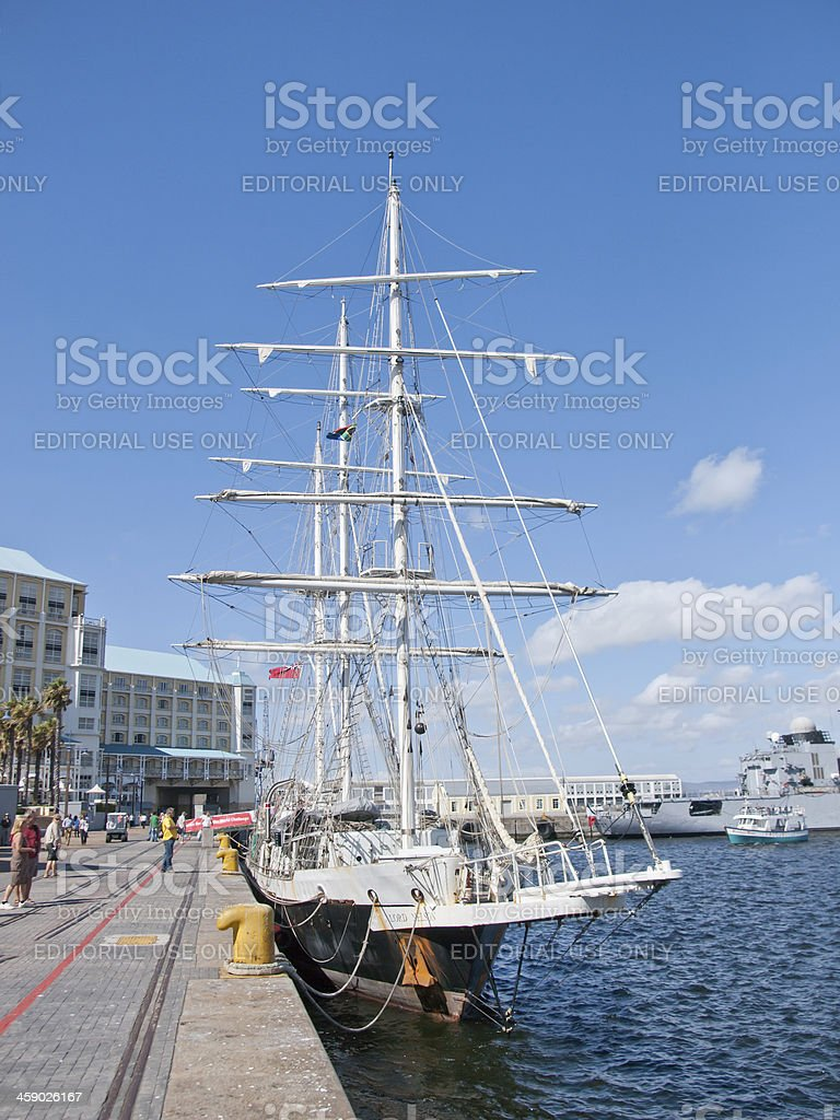 Lord Nelson stock photo