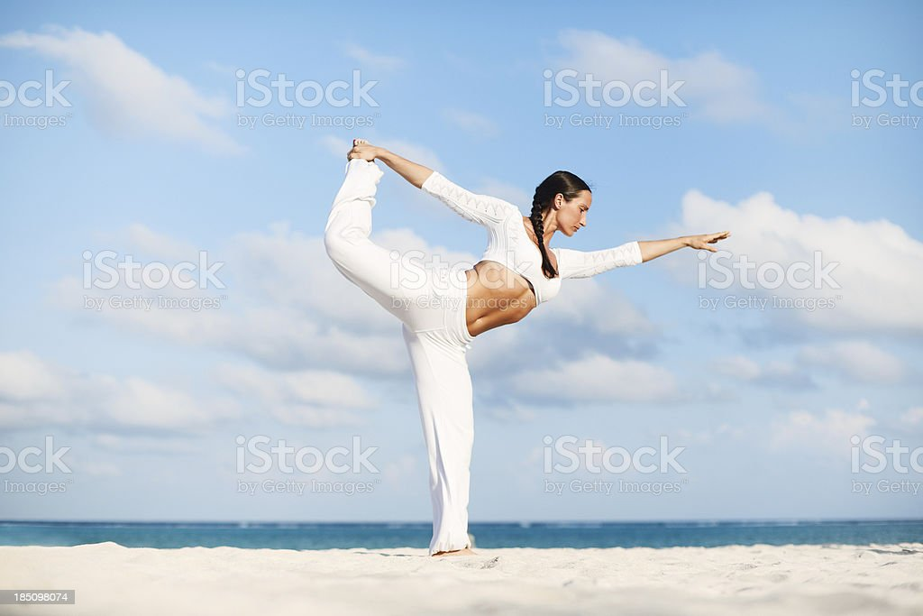 Lord of the Dance Pose royalty-free stock photo