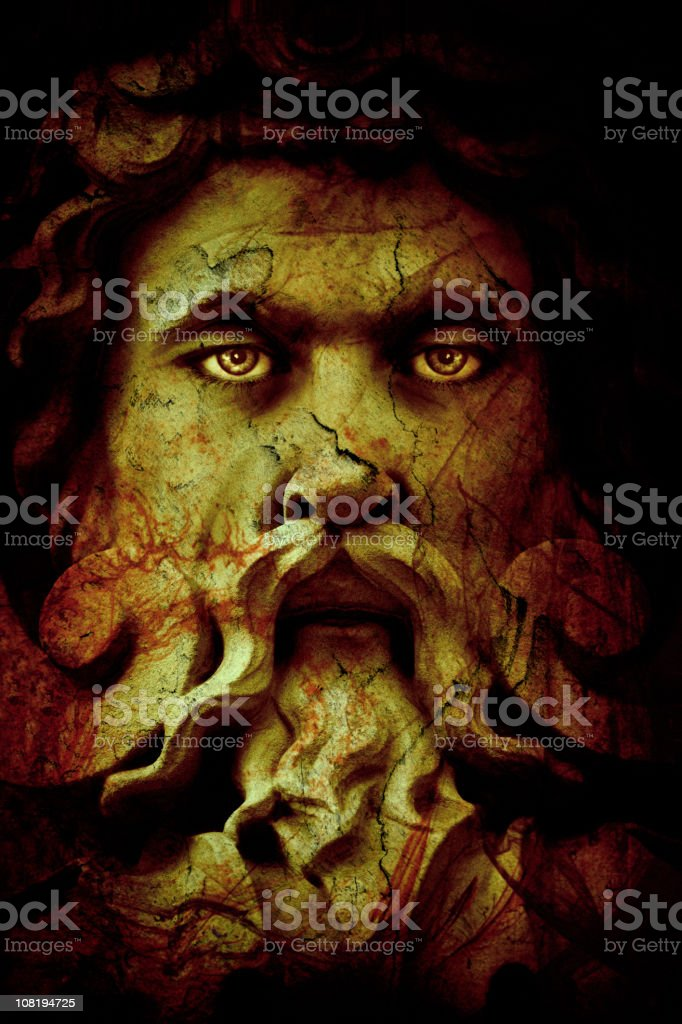 Lord of the underworld stock photo