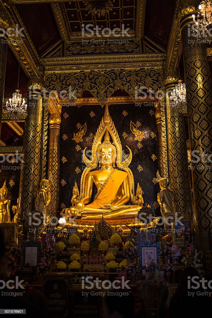 Lord President in the Buddhist Church stock photo
