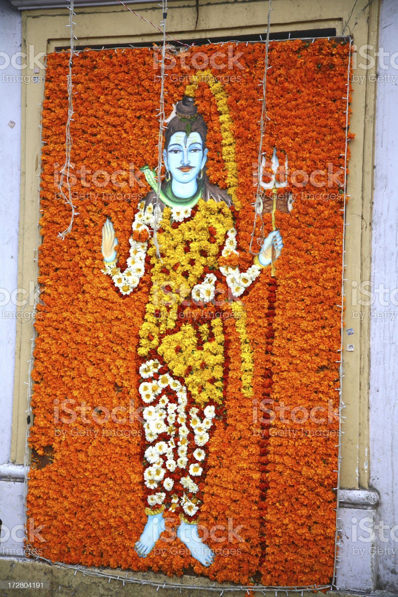 Lord Shiva or Mahesh royalty-free stock photo