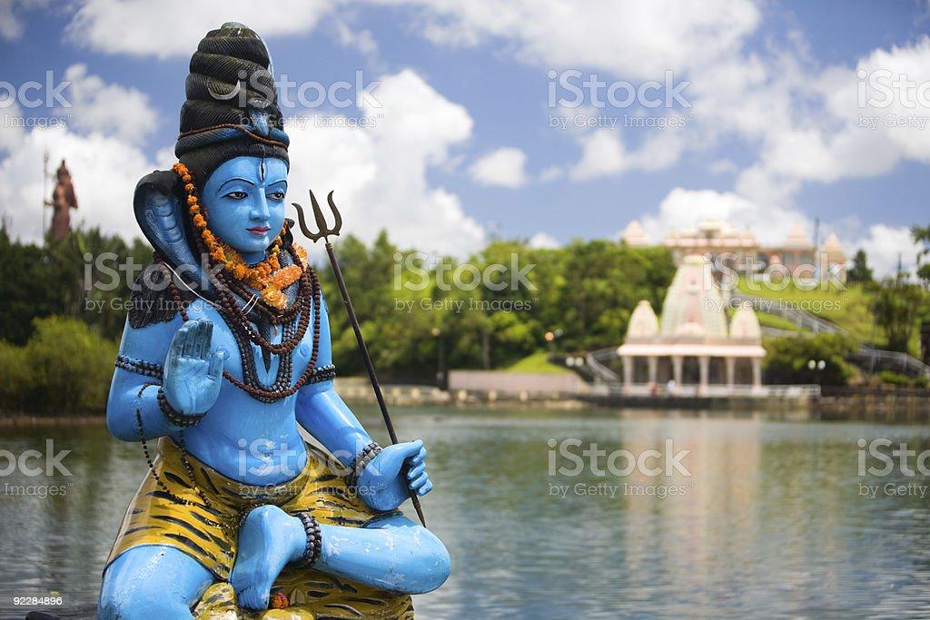Lord Shiva royalty-free stock photo