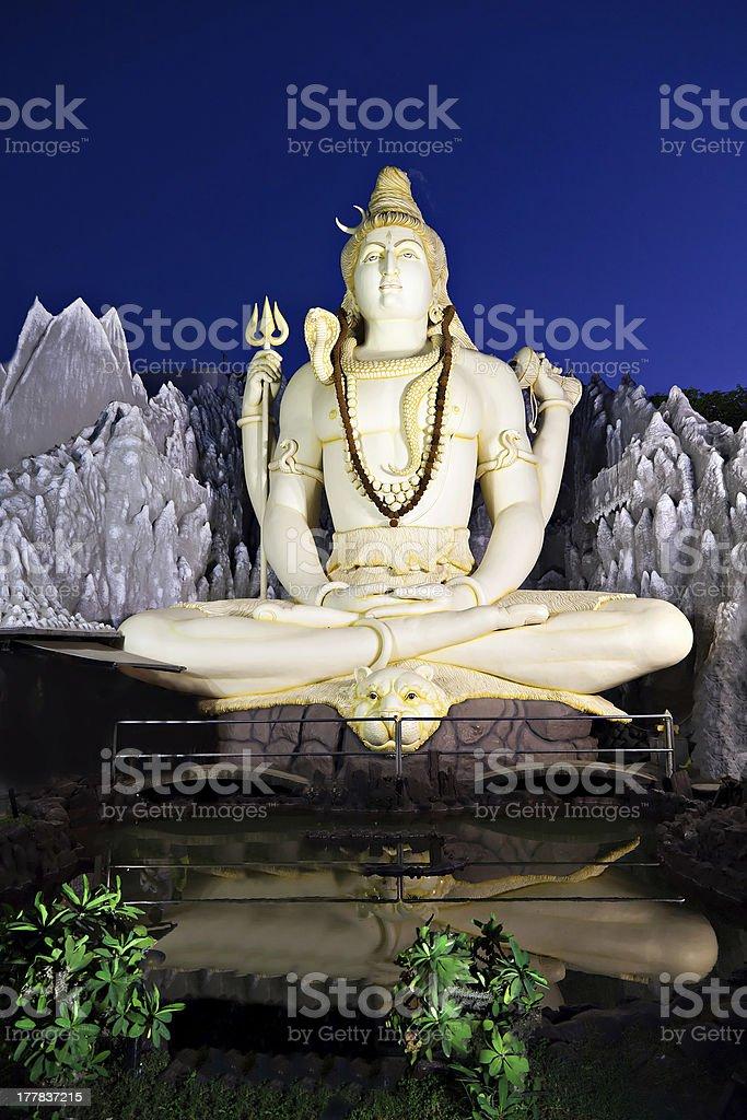 Lord Shiva Statue royalty-free stock photo
