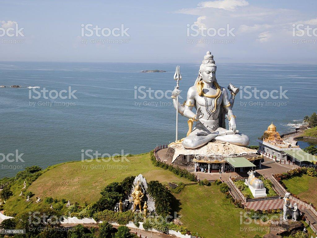 Lord Shiva temple royalty-free stock photo