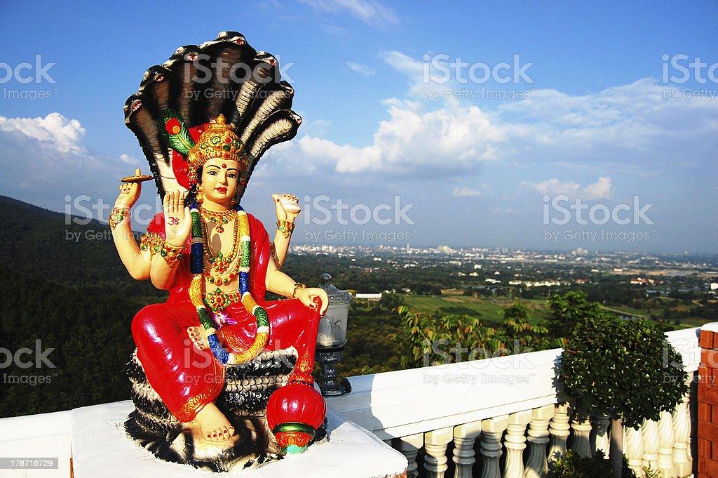 Lord Vishnu royalty-free stock photo