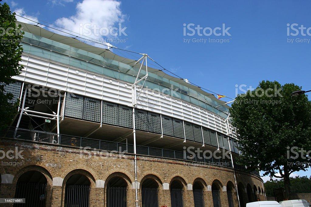 Lords Cricket ground London stock photo