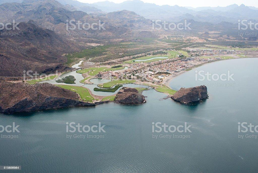 Loreto in Baja California stock photo