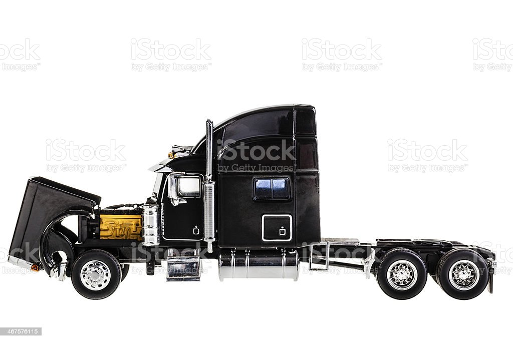 Lorry engine royalty-free stock photo