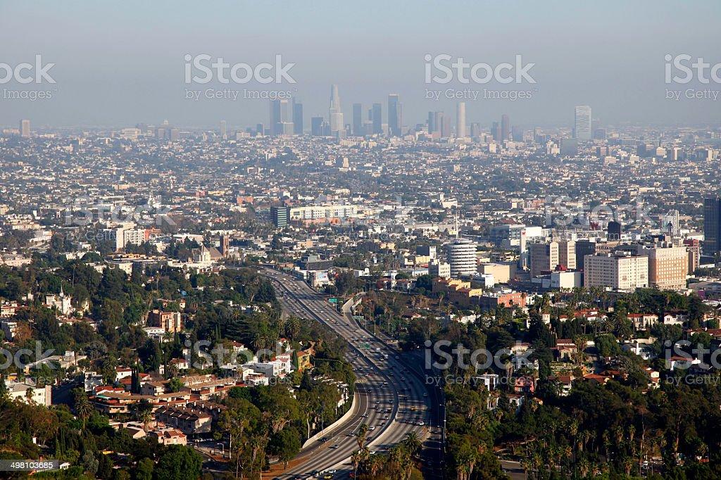 Los Angelas, California, USA royalty-free stock photo