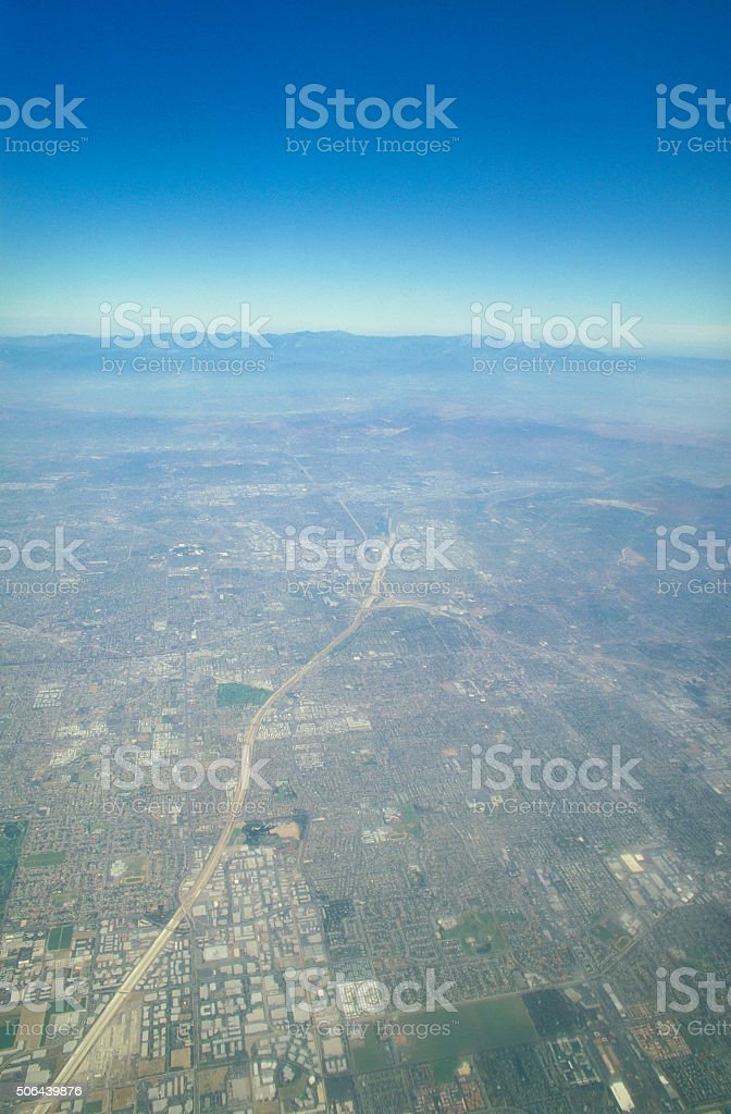 Los Angeles - Aerial View stock photo