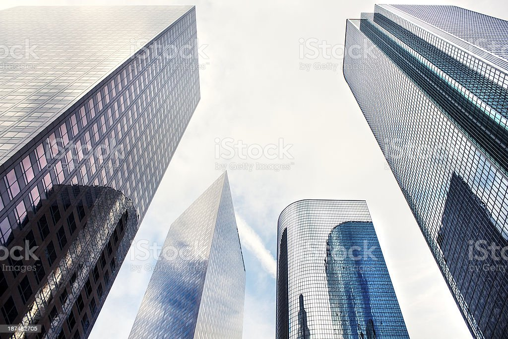 Los Angeles' buildings royalty-free stock photo