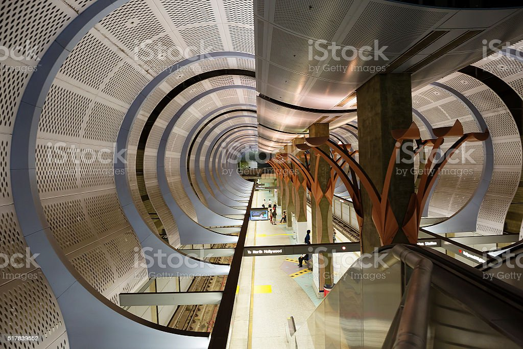 Los Angeles, CA. Metro. stock photo