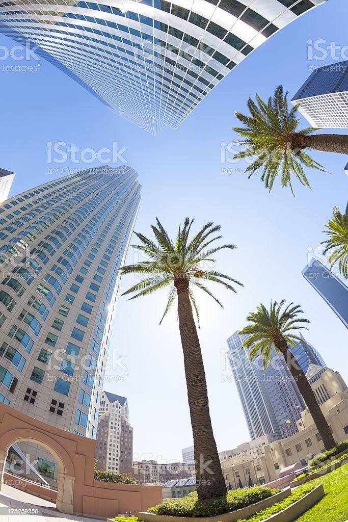 Los Angeles CA royalty-free stock photo
