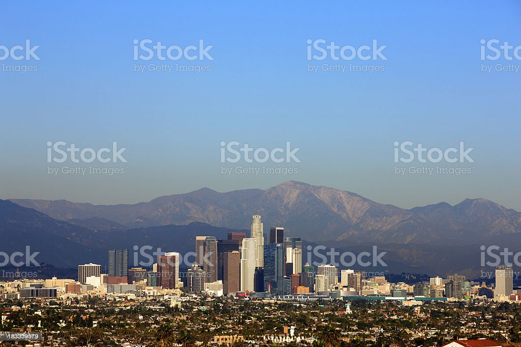 Los Angeles California royalty-free stock photo