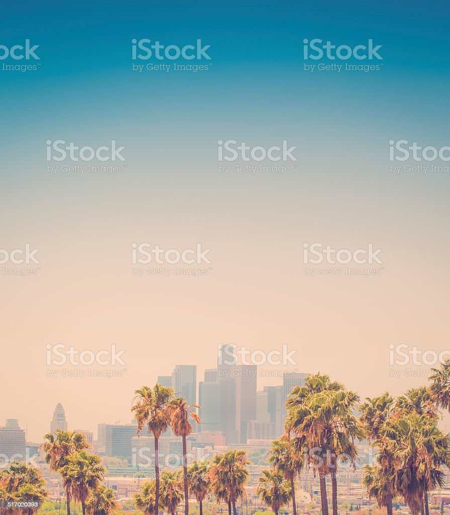 Los Angeles California stock photo