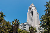 Los Angeles County Courthouse Building in California