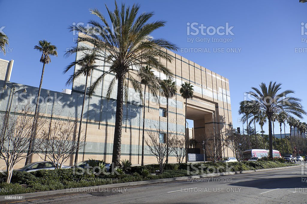 Los Angeles County Museum of Art stock photo