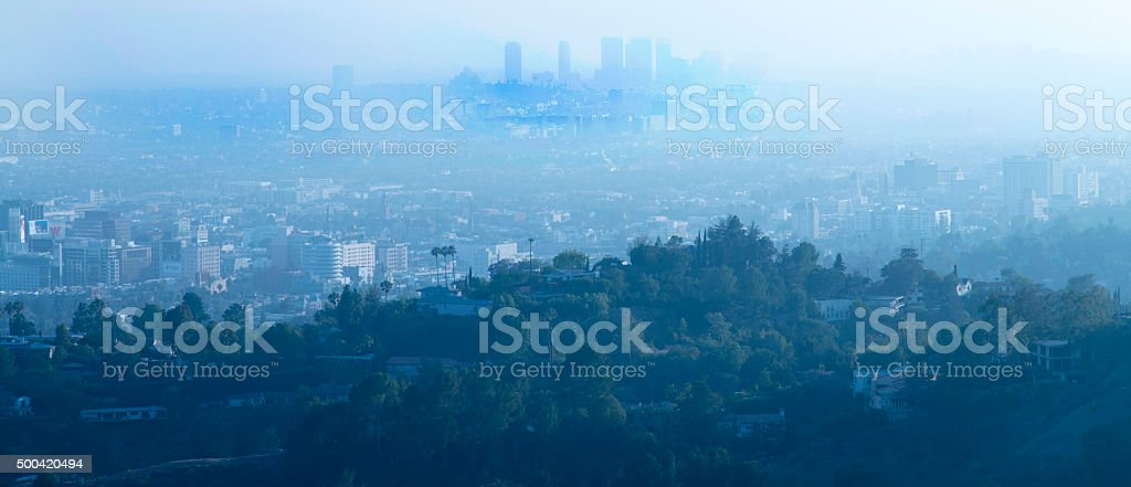 Los Angeles county stock photo