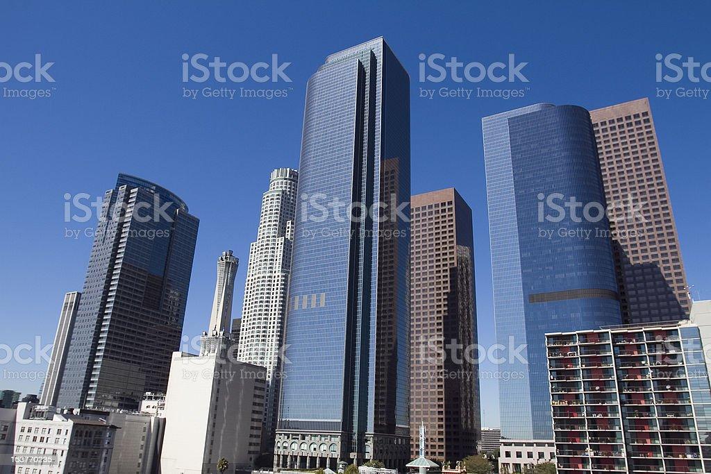 Los Angeles Daylight royalty-free stock photo