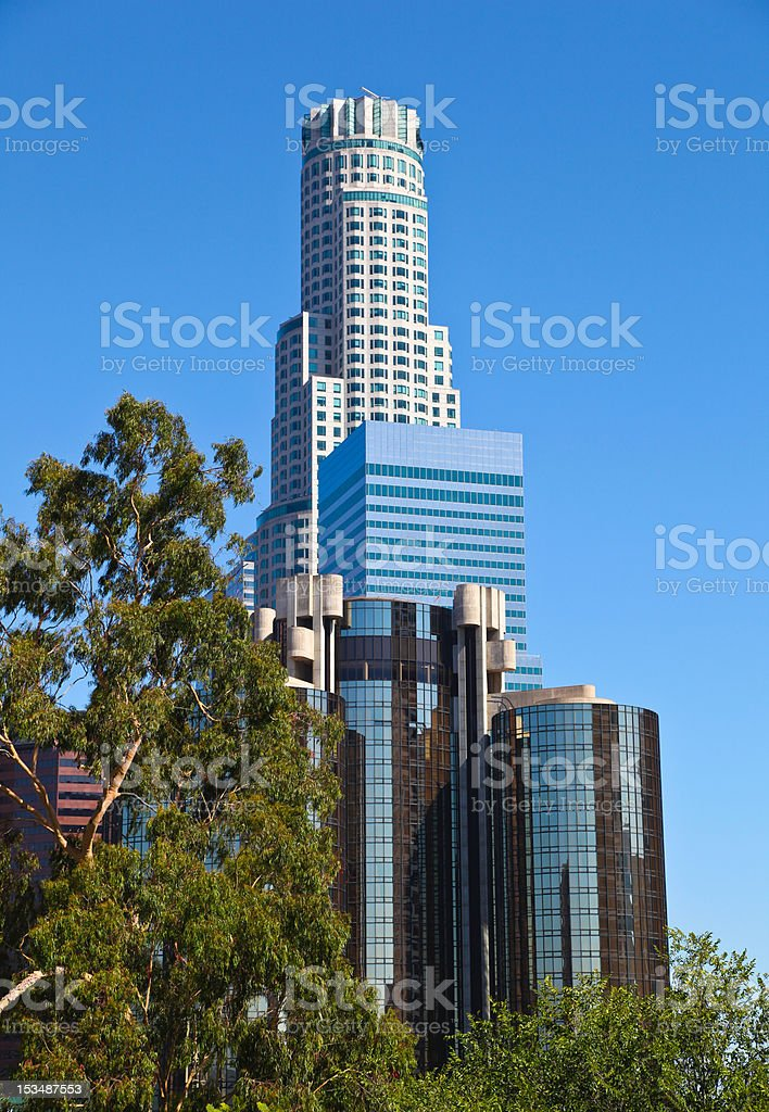 Los Angeles, Downtown stock photo