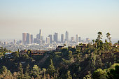 Los Angeles Downtown Skyline in Distance #4
