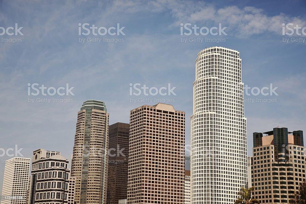 Los Angeles Downtown Skyline stock photo