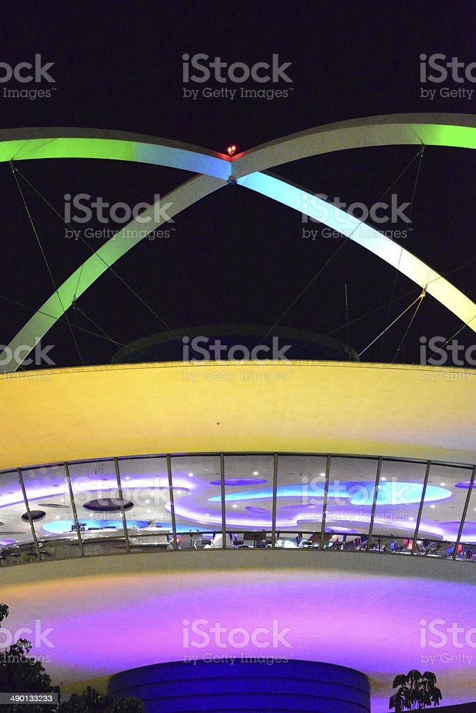 Los Angeles International Airport, California, USA royalty-free stock photo