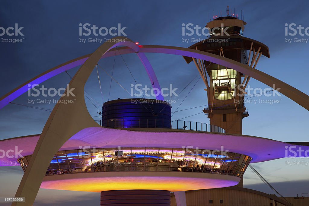 Los Angeles International Airport LAX stock photo