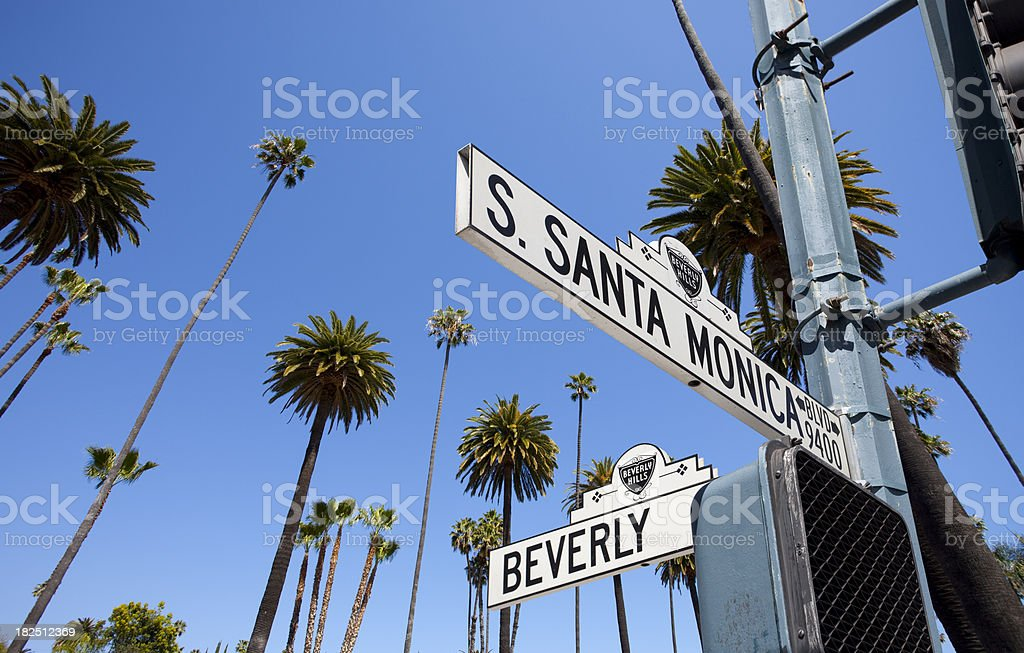 Los Angeles royalty-free stock photo