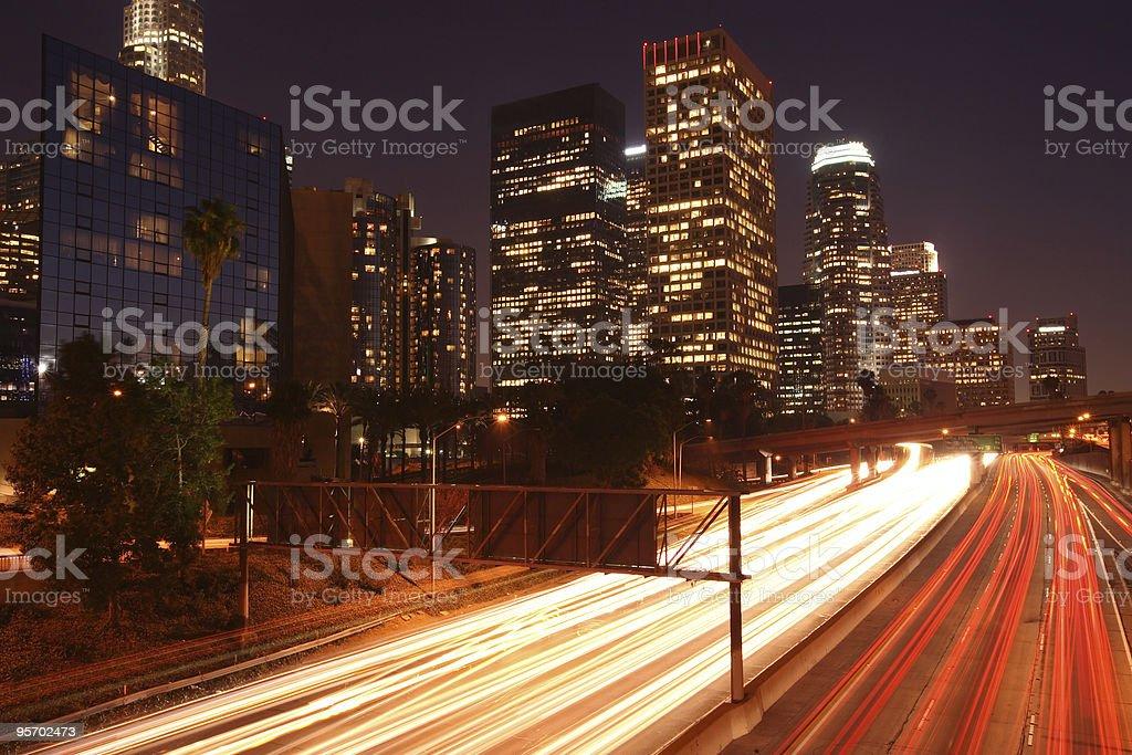 Los Angeles royalty-free stock photo