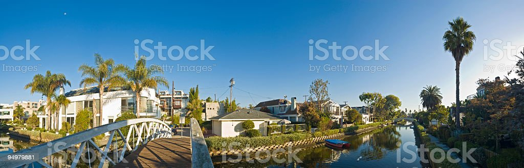 Los Angeles real estate royalty-free stock photo