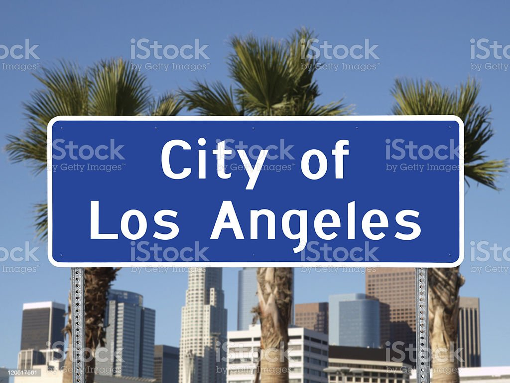 Los Angeles Sign royalty-free stock photo