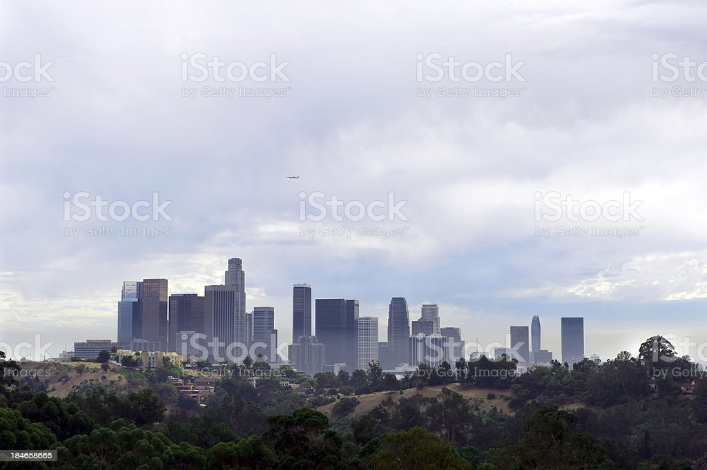 Los Angeles Skyline stock photo