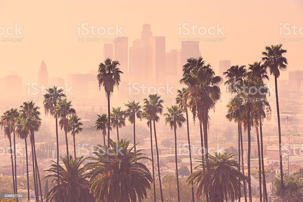Los Angeles Skyline stock photo