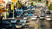 Los Angeles traffic.