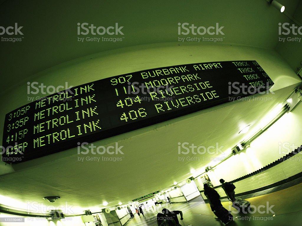 Los Angeles Union Station stock photo