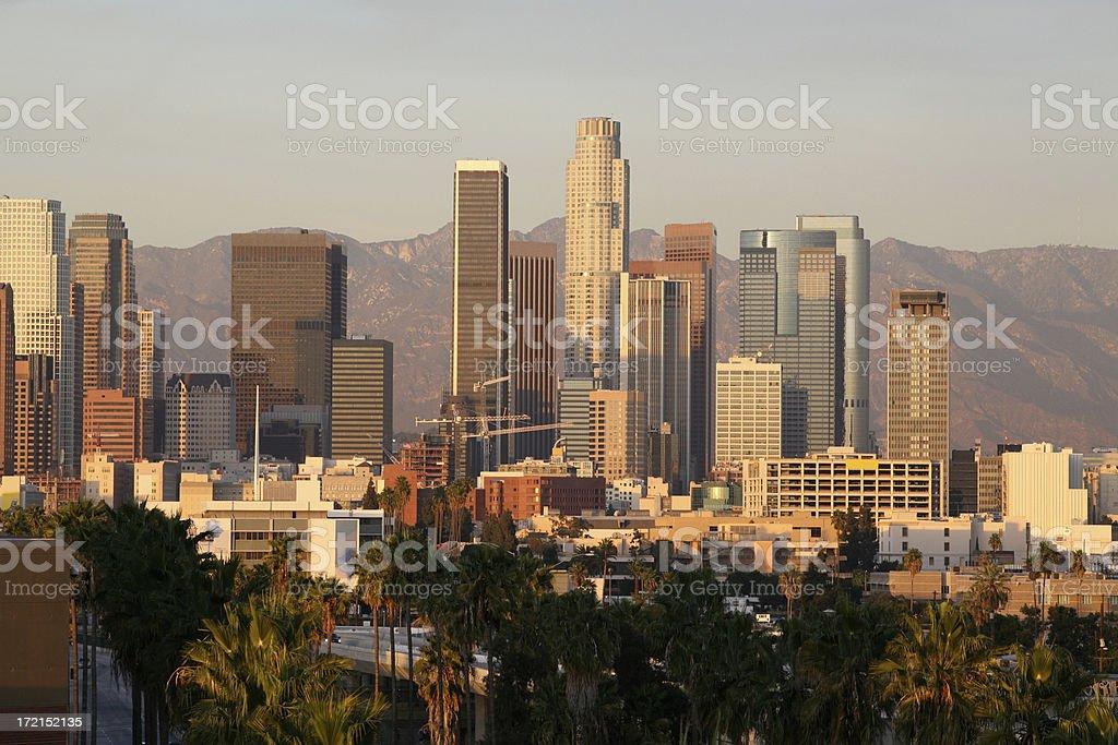 Los Angeles USA royalty-free stock photo
