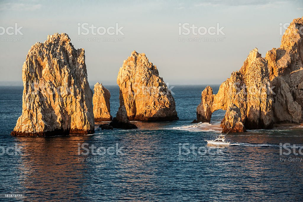 Los Arcos at Land's End stock photo