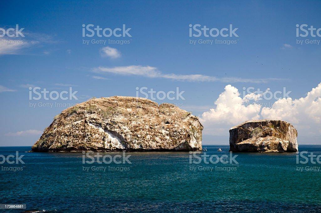 Los Arcos in Puerto Vallarta Mexico stock photo