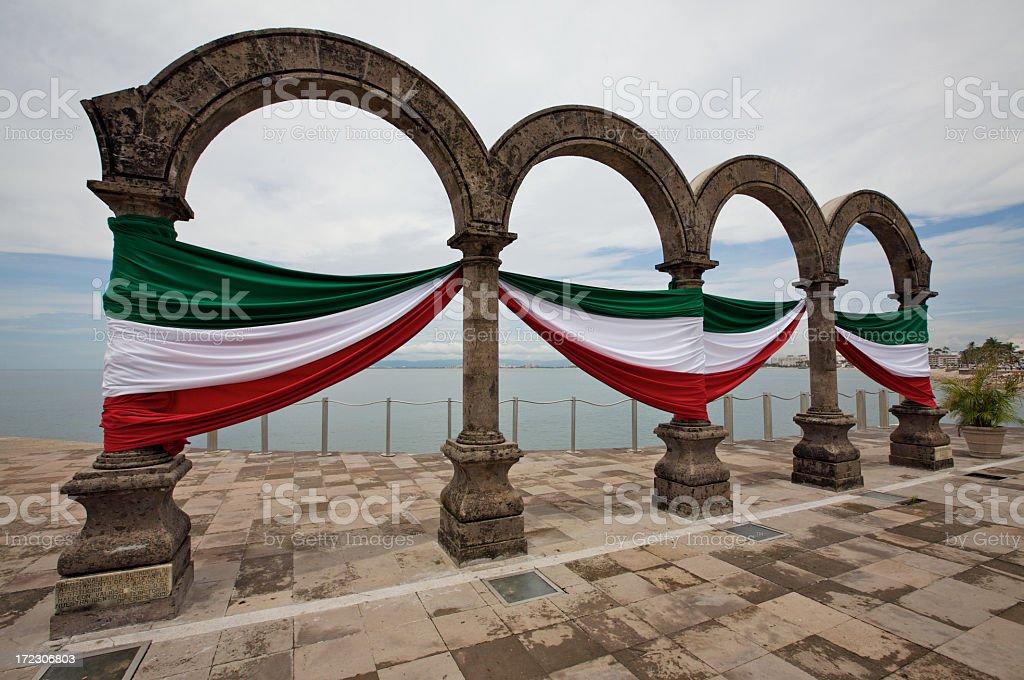 Los Arcos in Puerto Vallarta stock photo