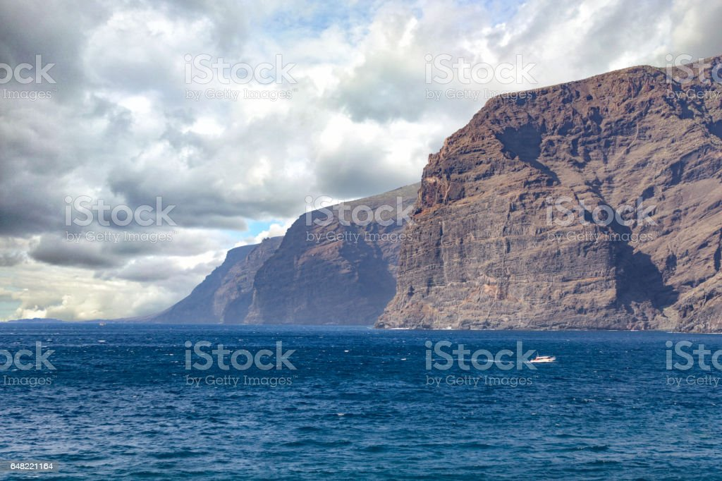 Los Gigantes coast - Tenerife, Spain stock photo